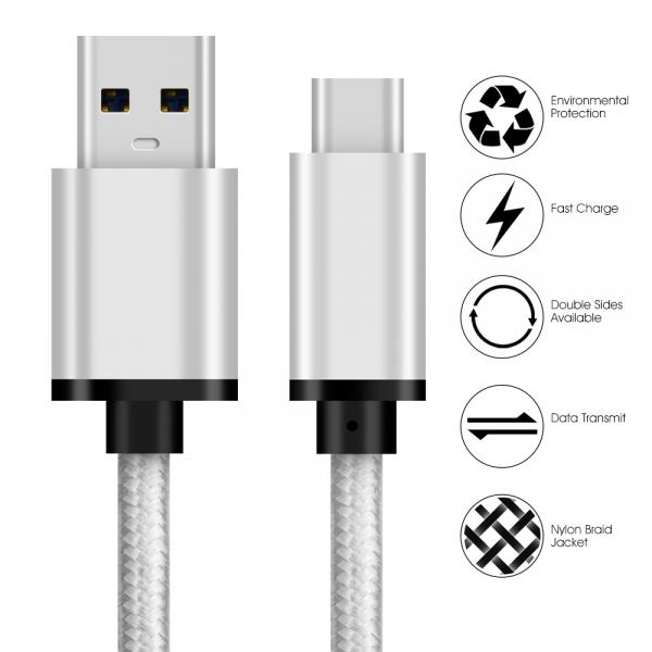 Picture of USB 3.0 Type C cable sliver